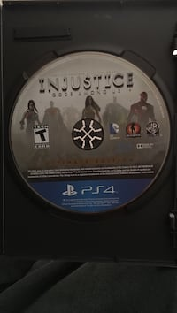 Sony ps4 injustice god's among us