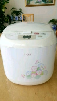 Tiger Brand 10 cups rice cooker/warmer, floral /wh Chicago, 60611
