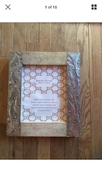 Picture frame with glass  Burlington, 08016