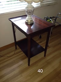 rectangular brown wooden side table Hasbrouck Heights, 07604