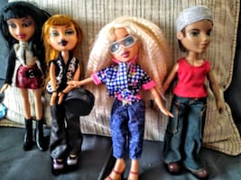 Bratz Dolls and outfits