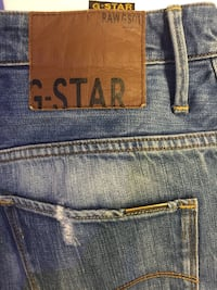 blå Rawgson G-star denimunderlag
