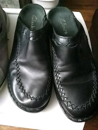 pair of black leather dress shoes Tulsa