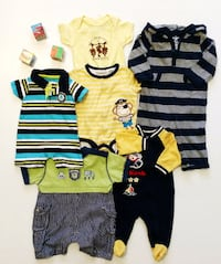 Baby clothes for boys 0-24 months