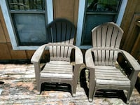 two brown wooden rocking chairs Columbus, 31906