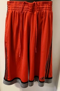 ADIDAS Red Gym Shorts Middletown, 21769