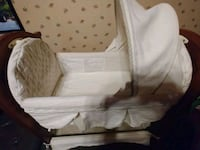 baby's white bassinet Brooklyn, 11237