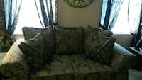 Olive Green. color floral fabric loveseat Kissimmee, 34741
