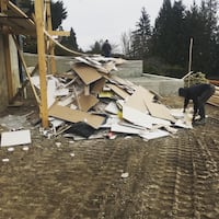 Construction Site Demo Clean Up Surrey