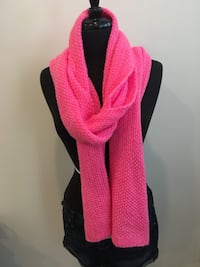 New neon pink scarf