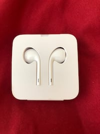 Used Brand new never used Apple iPhone earbuds with