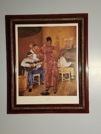 African American Art 4 Pieces