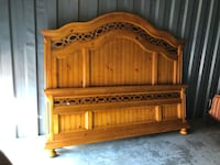 King size headboard and footboard for sale 14 km