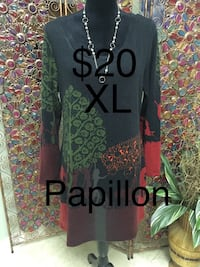 Ladies Size XL Papillon Tunic Edmonton, T6L 6Z6
