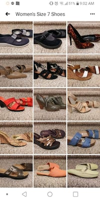 All Women's Size 7 Shoes (VARIOUS PRICES) Woodbridge, 22193