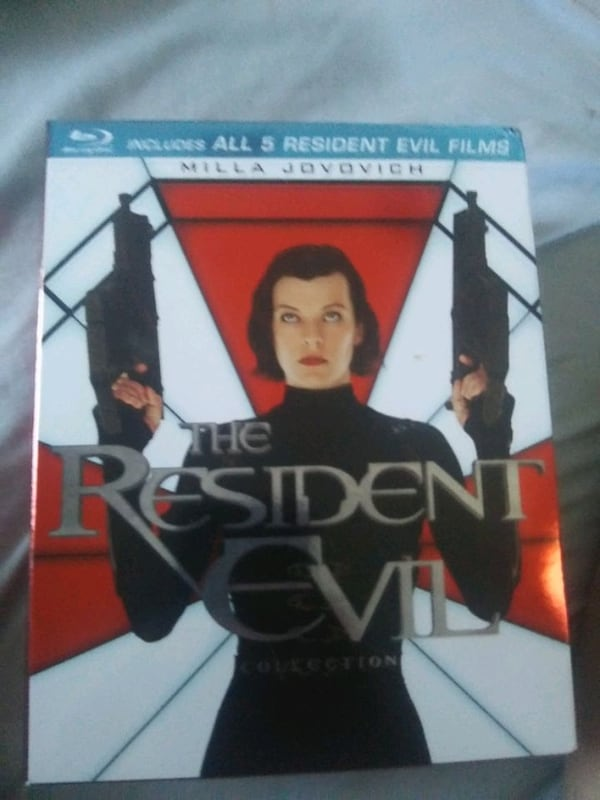 Used Resident Evil 5 Movie Collection Blu Ray For Sale In Killeen Letgo