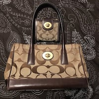 Authentic Coach bag with matching wallet Vancouver, V5V 4X8