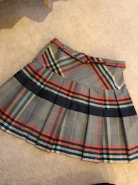 white, black, and red plaid skirt Mc Lean, 22101