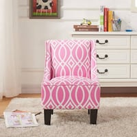 Better Homes and Gardens Kids Swoop Chair, Irongate Pink | SKU# 49197 Santa Fe Springs