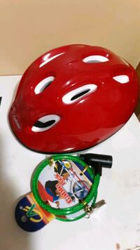 Brand new in package kids bicycle helmet.