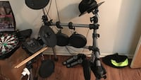 black and gray electric drum set Los Angeles, 91364