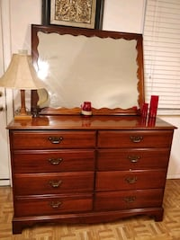 Nice solid wood dresser with 8 big drawers and big Annandale, 22003