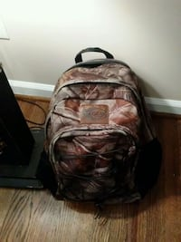 brown and black camouflage backpack Greensboro, 27410
