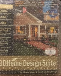3D Home Design Suite Brand New Computer Software Pittsburgh