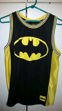 DC Comics Batman sleeveless jersey size large