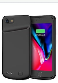 Battery Case for iPhone 7/8, 4500mAh Rechargeable Case NEW 1/2 PRICE