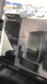 Kamron Audio 5.1 home theater system