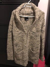 Aritzia wool cardigan.sx but can fit up to a medium as it fit big.comes from clean pet free smoke free home  Burnaby, V3N
