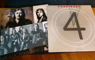 Foreigner vinyl record LPs
