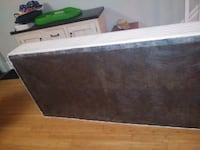 King size box spring in two pieces.   Toronto, M6J 2X4