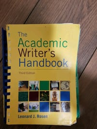 Academic Writer's handbook for Writing skill