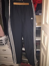 Grey and white adidas track pants Burnaby, V3N 1T3