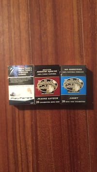 Have rolled gold red and blue for right now good smokes cheap 35 a carton Aldergrove, V4W 3H7