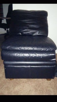 black leather recliner sofa chair Portland, 97233