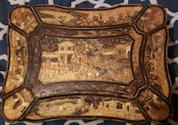 18th century Antique Chinese Lacquer Teabox with lead insert Vancouver, V5R 4S8