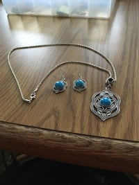 Matching necklace and earrings NEW Fairview Heights, 62208