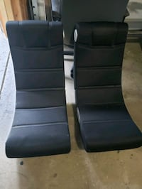 two black gaming chairs Aberdeen, 21001