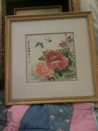 pink and white flowers painting Anaheim, 92804