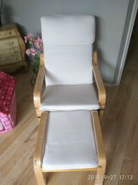 white and brown wooden armchair Edmonton, T6J 6R8