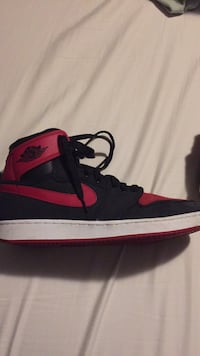 unpaired black and red Air Jordan 1 North Saanich, V8L 5A3