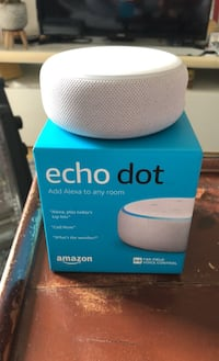 Amazon alexa echodot