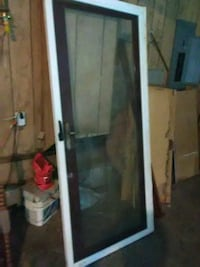 White framed glass door Moulton, 35650