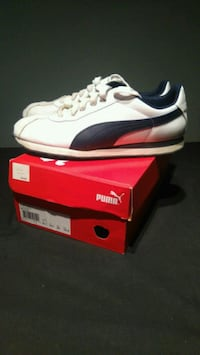 Men's White and Blue Puma Shoe Mississauga, L5K 1K1