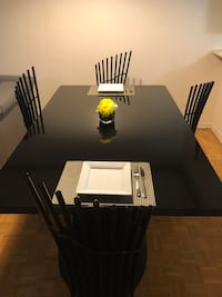 KITCHEN DINING TABLE SET WITH CHAIRS