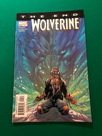 Marvel Comics Mini (2004) Wolverine: The End Issue #4 Aug. 04 Reynoldsburg, 43068