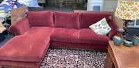 Sofa with attached lounge.  Edgewater, 21037